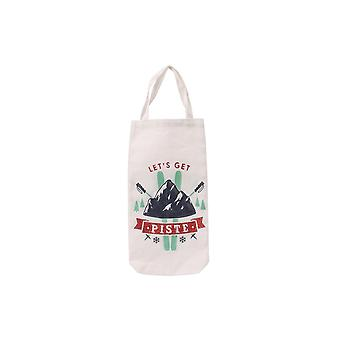 Joy To The World Lets Get Piste Bottle Bag