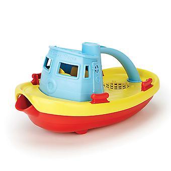 Green Toys Sleepboot - Blauw/Geel