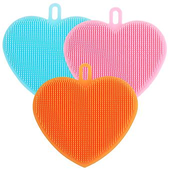 SILICONE HEART BRUSH