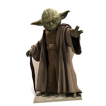 Yoda (Mini) Star Wars Official Cardboard Cutout