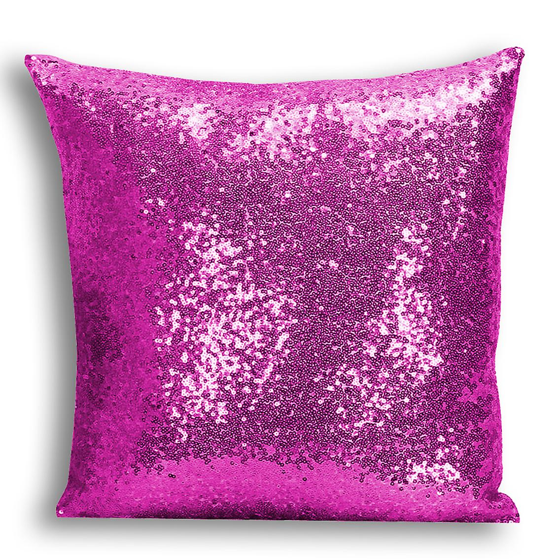 Home I Cover For Decor 4 Pink Sequin CushionPillow Printed Design tronixsUnicorn J3FTlK1c