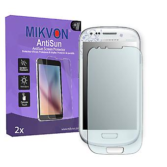 Samsung I8190 Galaxy S3 mini La Fleur Edition Screen Protector - Mikvon AntiSun (Retail Package with accessories) (reduced foil)