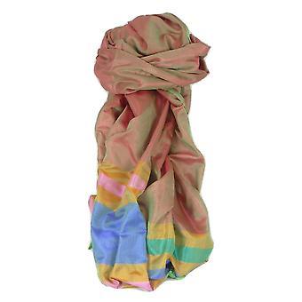 バラナシ国境プライムの絹の長いスカーフ遺産 Rajagopal パシュミナ ・ シルクで 260