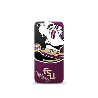 Mizco Sports NCAA Oversized Snapback TPU Case for Apple iPhone 5 / 5S / SE (Flor