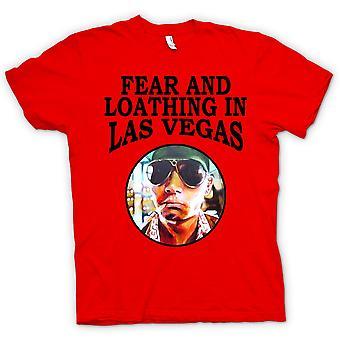 Womens T-shirt-angst Loathing - Hunter S Thompson Funny - film