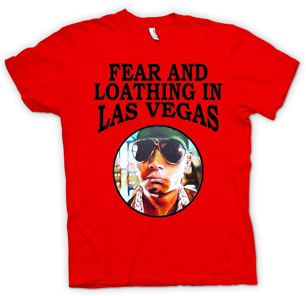 Herr T-shirt-Fear avsky - Hunter S Thompson Funny - film