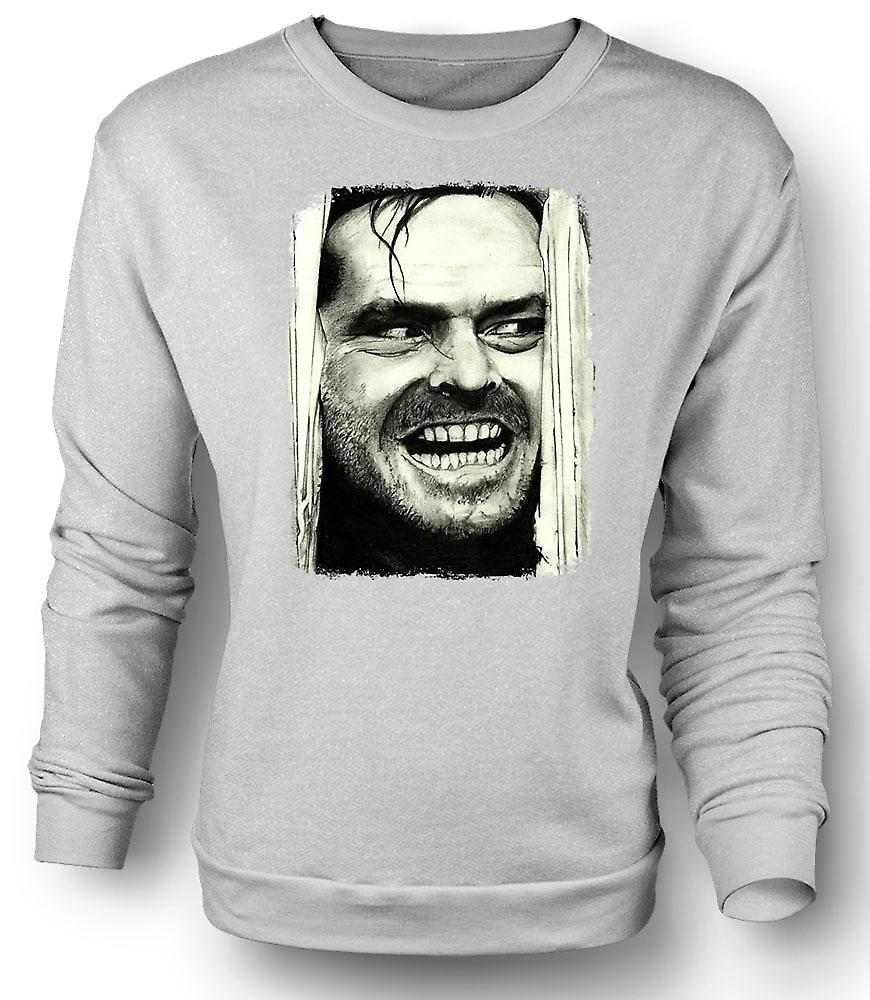 Mens Sweatshirt The Shining - Jack Heres Johnny