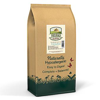 Ghf Naturals Fish & Rice Adult 12KG