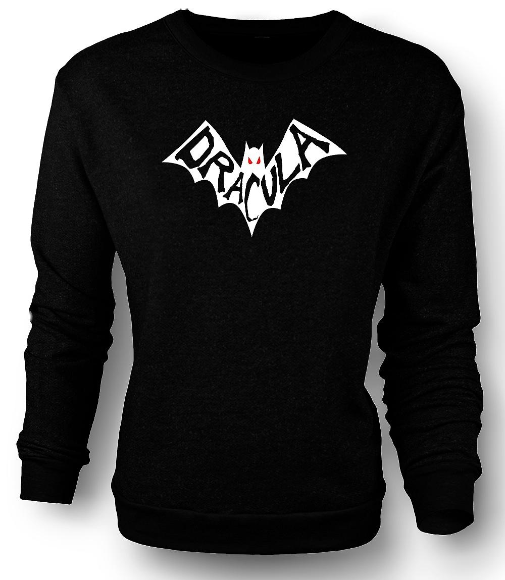 Heren Sweatshirt Dracula Bat - grappige Horror