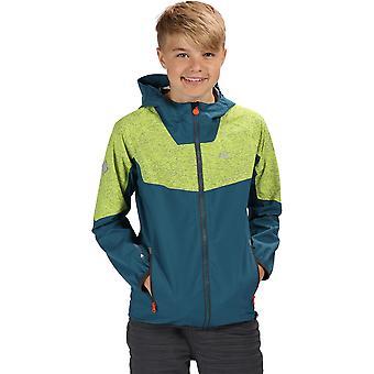 Regatta Boys & Girls Deviate II Hooded Waterproof Jacket
