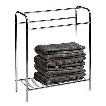 Floor Standing Towel Stand Chrome H78 x W63 x D26cm