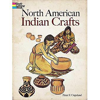 North American Indian Kunsthandwerk (Dover Malbücher)