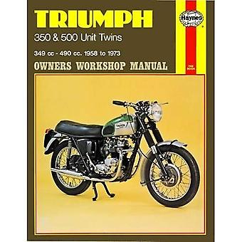 Triumph 350, 500 Twins Owner's Workshop Manual (Motorcycle Manuals)