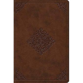 Bíblia de estudo ESV, tamanho pessoal (TruTone, sela, ornamento Design) (Esv Bíblias)