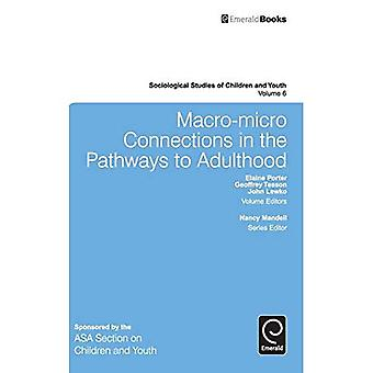 Macro-Micro Connections in the Pathways to Adulthood: 6 (Sociological Studies of Children and Youth) (Sociological...