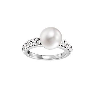 ESPRIT collection ladies ring silver zirconia Nephele ELRG92310A1