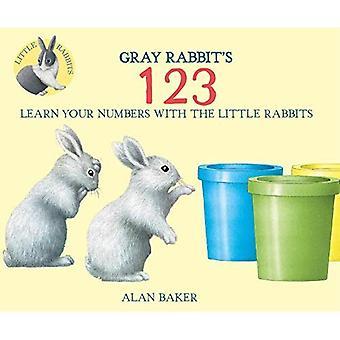 Gray Rabbit's 123 (Little Rabbit Books)