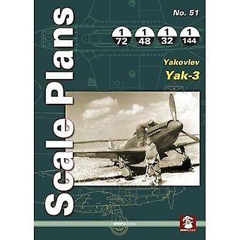 Scale Plans 51: Yakovlev Yak-3: 2018 (Scale Plans)