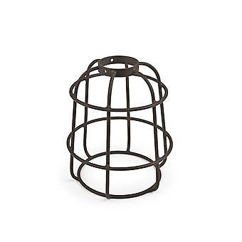 Vintage Brown Metal Cage Shade - Grok 71-4825-CI-CI