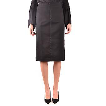 Fendi svart bomull kjol