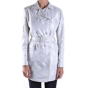 Peuterey White Nylon Trench Coat