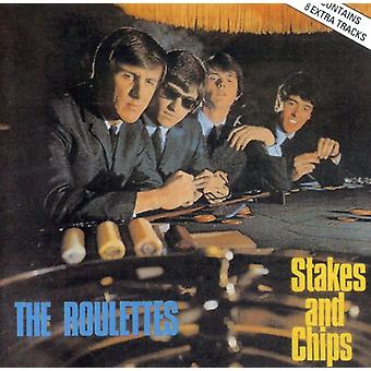 Roulettes - Stakes & Chips [CD] USA import