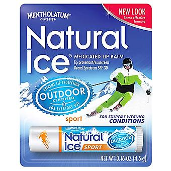 Natural ice medicated lip protectant / sport sunscreen, spf 30, 1 ea