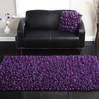 Rugs -Rocky - Purple & Plum