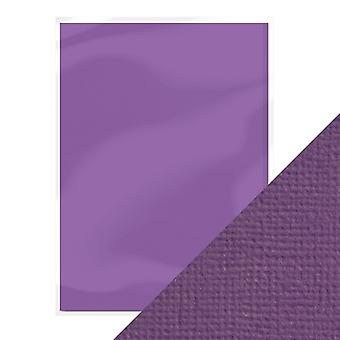 Craft Perfect A4 Weave Textured Card Amethyst Purple Tonic Studios