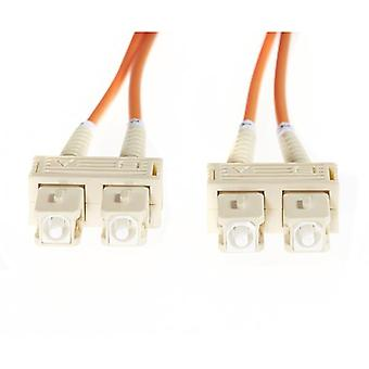 3M Sc Sc Om1 Multimode Fibre Optic Cable Orange