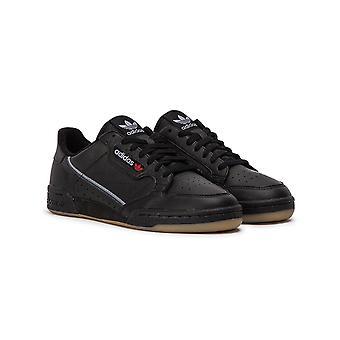 Adidas Originals Continental 80 Trainers - Core Black