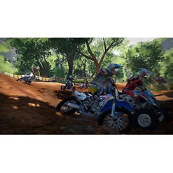 MX vs ATV Alive Xbox 360 spil (italiensk box EFIG i spil)