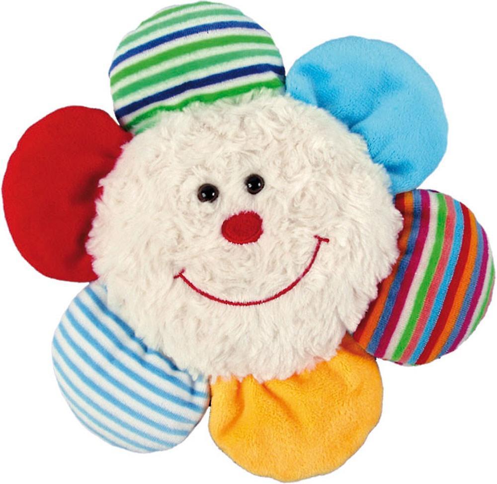 Children's Faux Fur & Fleece Cherry Pit Pillow: Flower