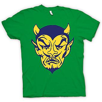 Kids T-shirt - The Devils Face - Funny