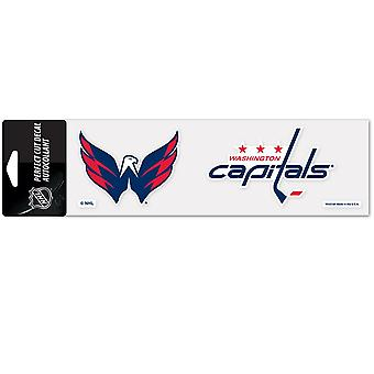 Wincraft Aufkleber 8x25cm - NHL Washington Capitals
