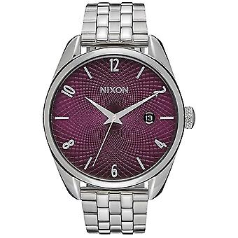 Nixon the bullet watch for Japanese Quartz Analog Woman with A4182157 Stainless Steel Bracelet