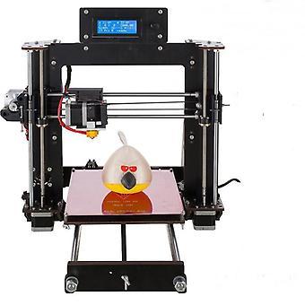 Diy prusa i3 Impresora 3d 200 * 200 * 180mm tamaño de impresión soporte de impresión fuera de línea 1.75mm 0.4mm boquilla