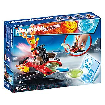 Playmobil Sparky with Disc Shooter 6834