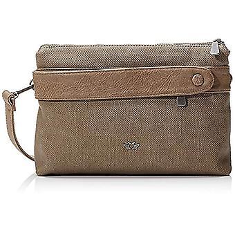 Fritzi aus Preussen Amal - Brown Women's Shoulder Bags (Mud) 5x29x18.5 cm (W x H L)