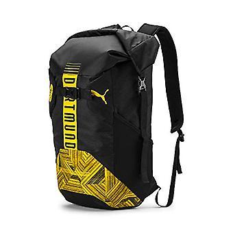 PUMA BVB FtblCulture Rolltop Backpack - Zaino Unisex Adulto - Black-Cyber Yellow - UA