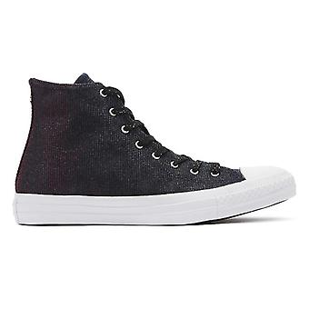 Converse Chuck Taylor All Star Womens Laser Black Hi Trainers