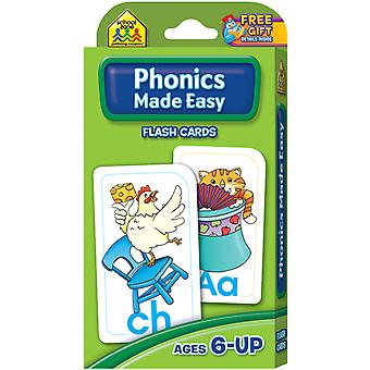 Flash Cards Phonics Made Easy 54 Pkg Szflc 4014