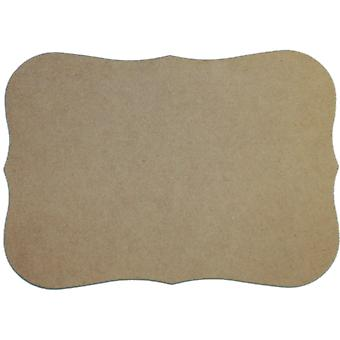 Unfinished Mdf Plaque 1 Pkg Roman 7.5