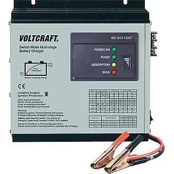 VOLTCRAFT BC-012-15AT - 15A Multi-Stage Lead Acid Battery Charger Station, For 12V Batteries
