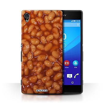 STUFF4 Case/Cover for Sony Xperia Z4v/E6508/Baked Beans/Food