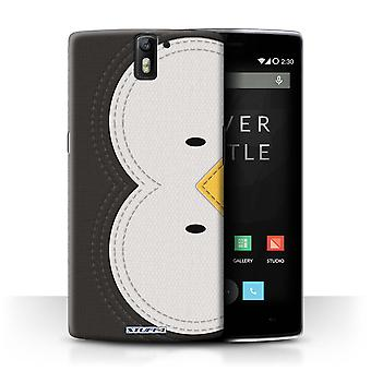 STUFF4 Case/Cover voor OnePlus One/Penguin/dier Stitch Effect