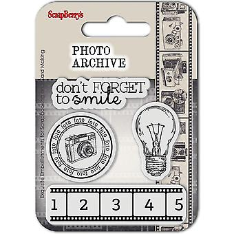 ScrapBerry's Photo Archive Clear Stamp-Smile 907013B