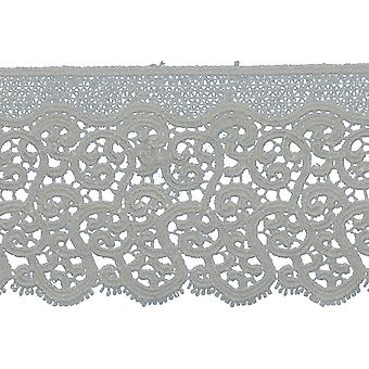 Abstract Edge Venice Lace Trim 3-1/8