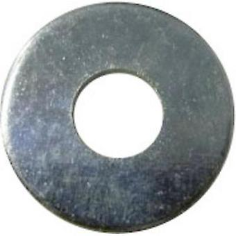Washers Inside diameter: 2.5 mm M2.5 DIN 9021 Steel zinc plated 100 pc(s) TOOLCRAFT 2,7 D9021:A2K 194721