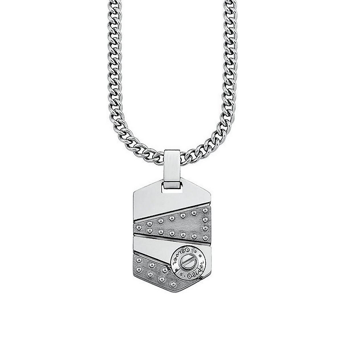 s.Oliver jewel mens necklace stainless steel SO921/1 - 441162